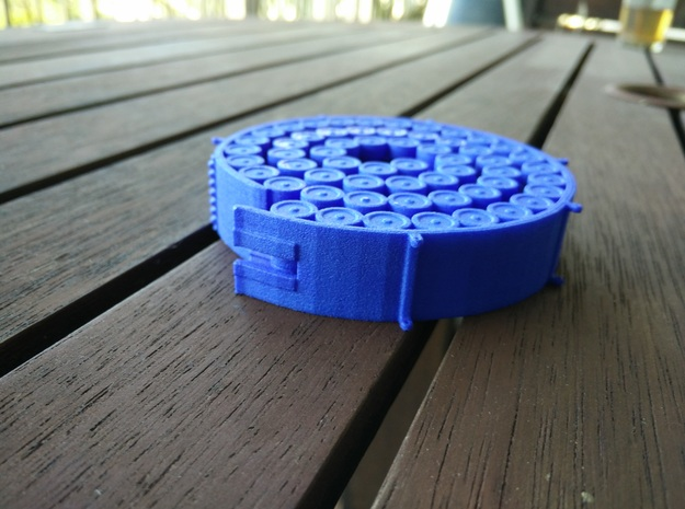 Orion Magazine Coaster in Blue Strong & Flexible Polished
