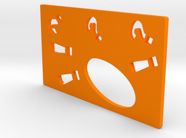 SwedishVaper SquonkER Style B door in Orange Processed Versatile Plastic
