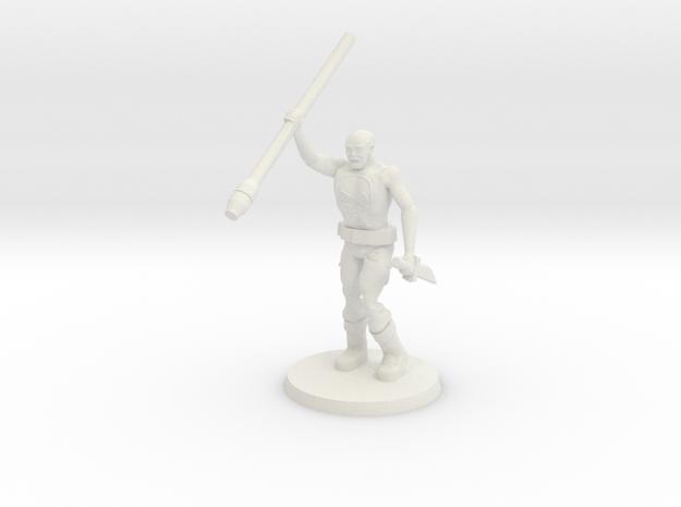 Deathboy Raider 2 in White Natural Versatile Plastic