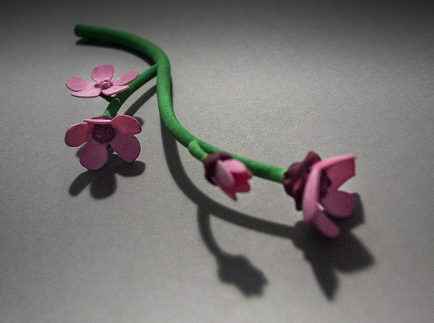 Cherry Blossom Wand in White Natural Versatile Plastic