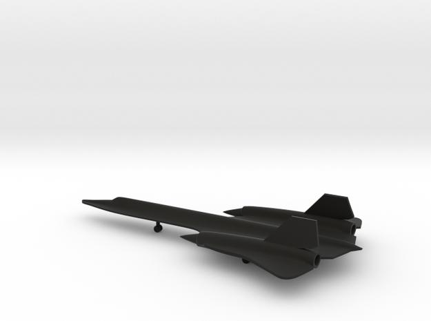 Lockheed SR-71 Blackbird in Black Strong & Flexible: 1:285 - 6mm
