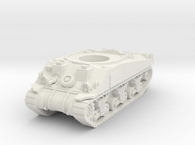 Sherman M4 Hull 15mm / 1/100 in White Strong & Flexible