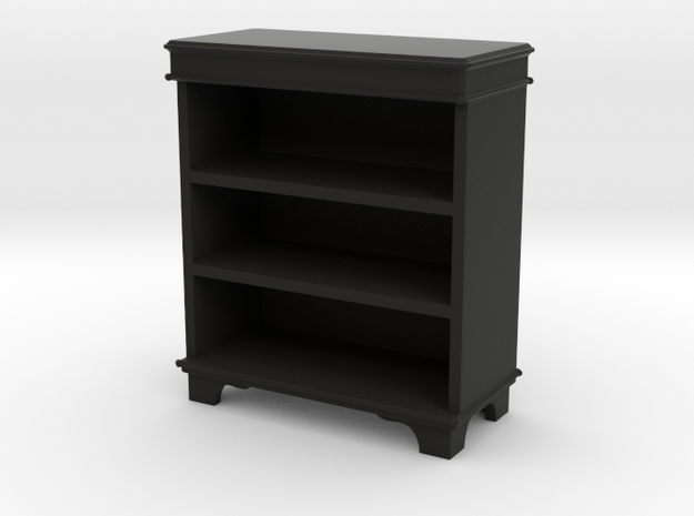 Book Cabinet  in Black Natural Versatile Plastic