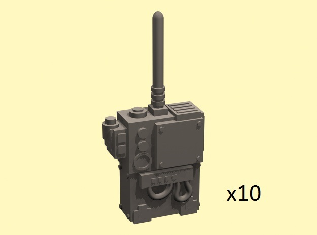 28mm radio transmitter backpack