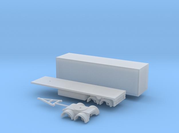 60mm Anhänger Spur N  1:160