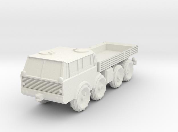 1/100 Tatra 813 plain model in White Natural Versatile Plastic