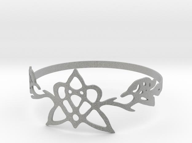 Star Ring in Metallic Plastic