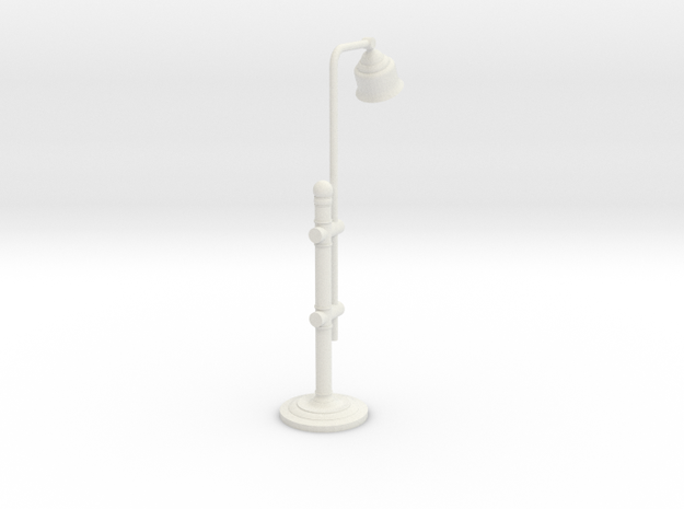 Mini_Desk_Lamp in White Strong & Flexible
