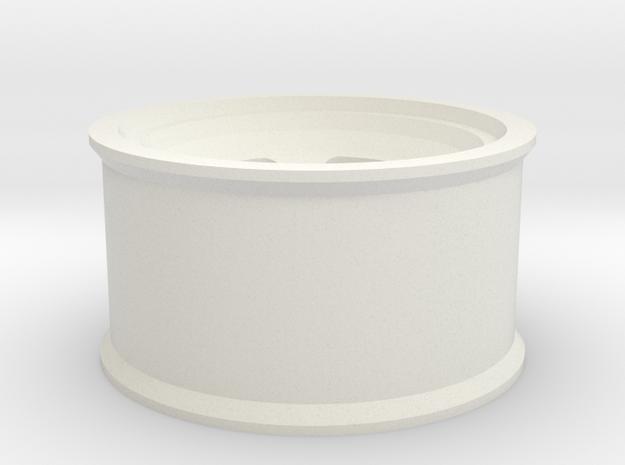 PL Ambush Wheel in White Natural Versatile Plastic
