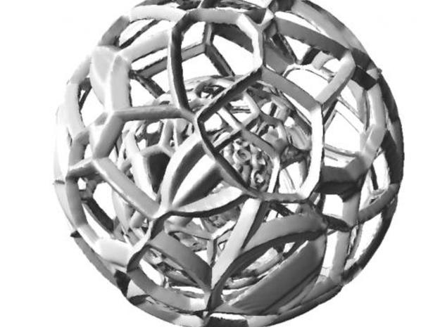 Sphere within a sphere within a sphere 3d printed View1