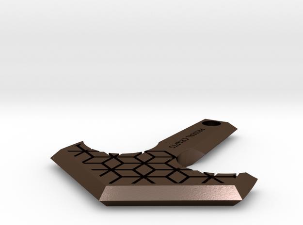 MjolnirV2_custom in Polished Bronze Steel