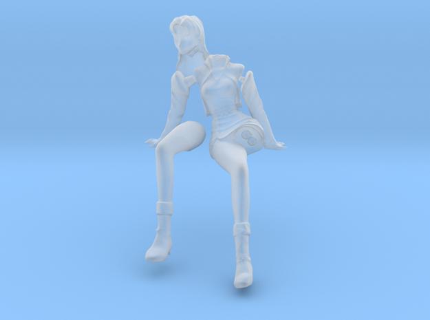 1/20 Misato Sitting Pose in Smooth Fine Detail Plastic
