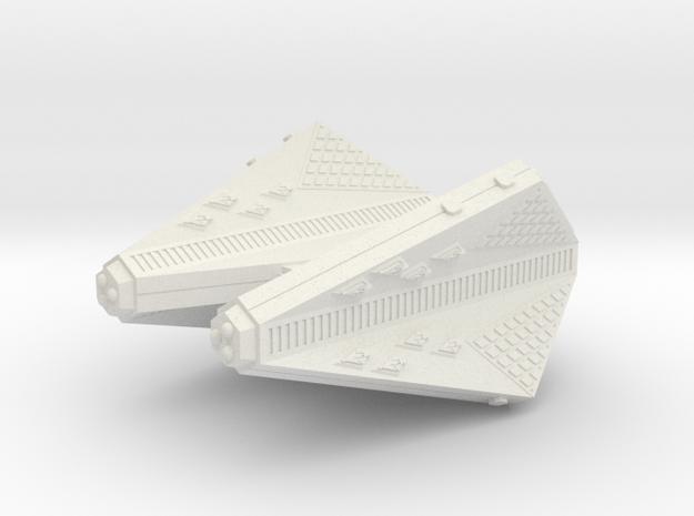 3125 Scale Tholian Heavy Carrier (CVA) SRZ in White Strong & Flexible
