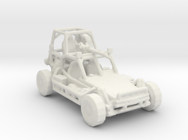 Fast Attack Vehicle V1 1:220 in White Natural Versatile Plastic