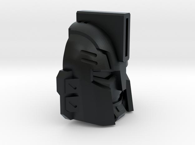 Sledgehammer face for Titans in Black Hi-Def Acrylate