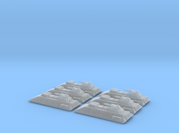 1/270 Imperial 1-L Tanks (6) in Smooth Fine Detail Plastic