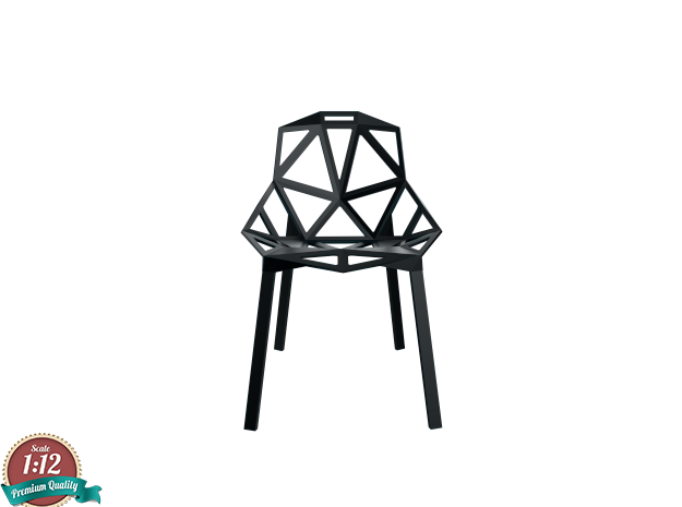 Miniature Chair One Stacking Base - Konstantin Grc