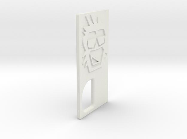 TLF# - Calm Kong - Door in White Strong & Flexible