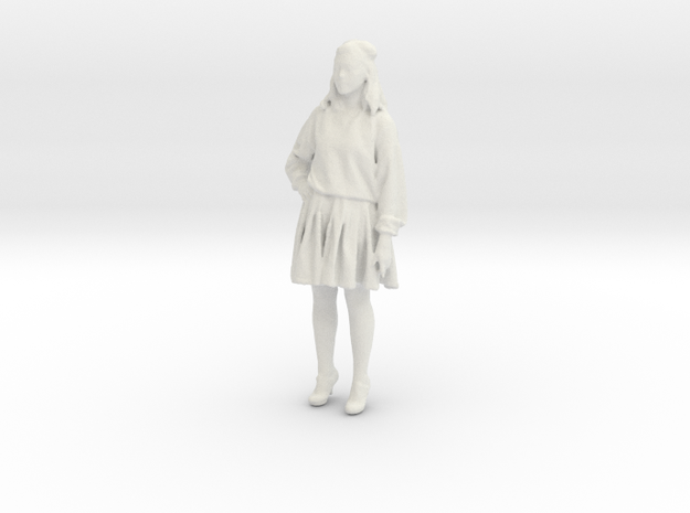Printle C Femme 576 - 1/32 - wob in White Natural Versatile Plastic