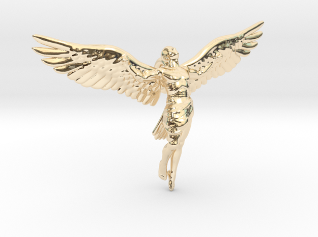 Icarus in 14k Gold Plated Brass