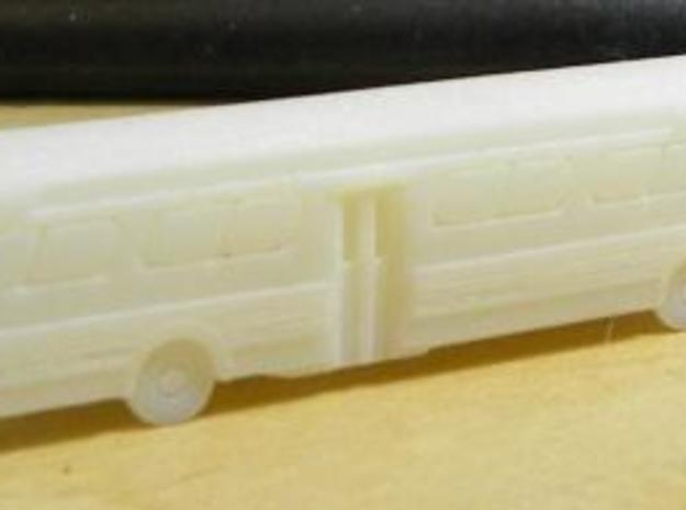 GM FishBowl Bus - Z Scale 3d printed It Arrived!