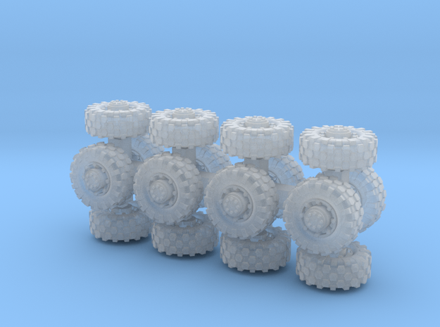 7mm diameter wheels x16 in Frosted Extreme Detail