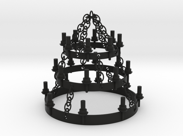 PLAYMO MEDIEVAL ROOF CHANDELIER 1/24