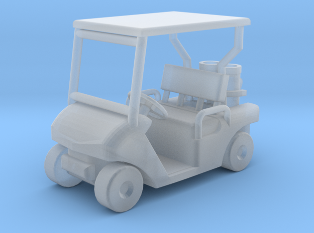 TT/1:120 Golf cart in Smooth Fine Detail Plastic