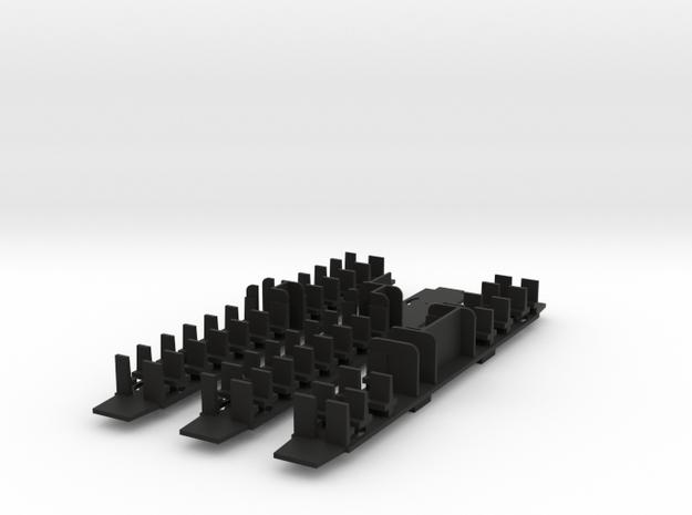 VOI036a  N-SNCB- Type K2-Planchers Rame de 3 voitu