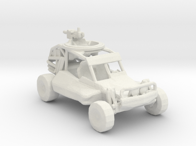 Advance Light Strike Vehicle v1  1:220 scale in White Strong & Flexible