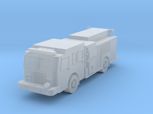 FireTruck-Pump 1/160 - N Scale in Smoothest Fine Detail Plastic