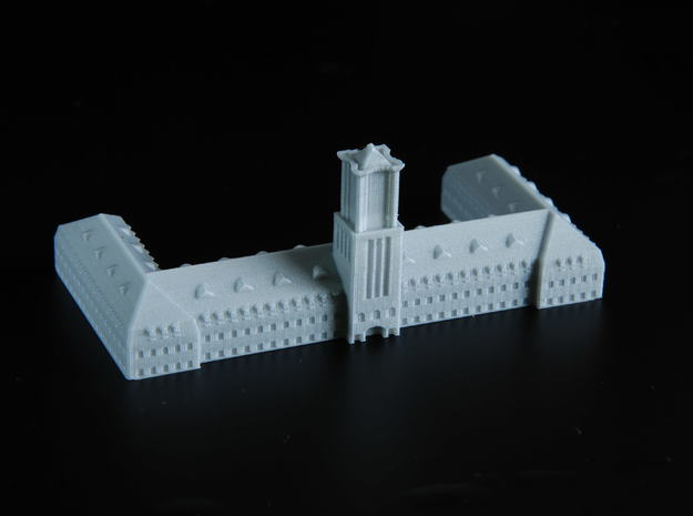 german harbour building 1/1250 in Smooth Fine Detail Plastic