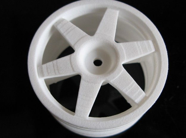 0444094 Tamiya 1/8 TGX Wheel 3d printed Add a caption...