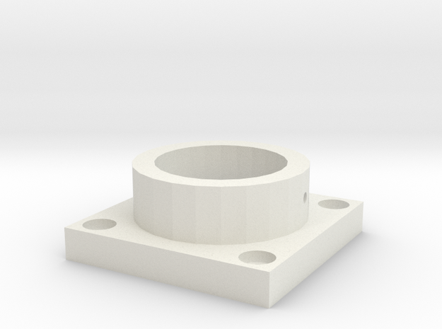 MPConnector - Connector Foot 1 peice  in White Natural Versatile Plastic