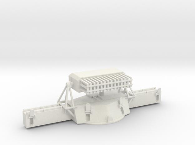 1/48 USN MK38 Gun Director v2 in White Natural Versatile Plastic
