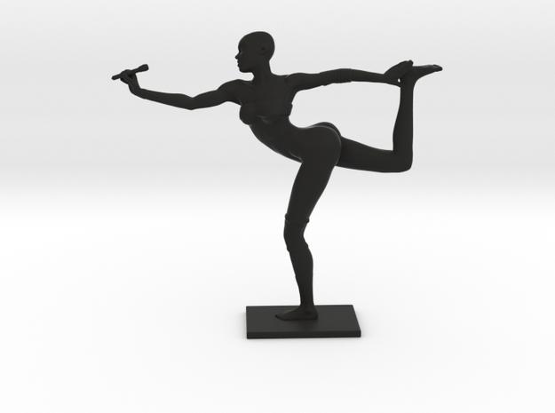 Grace_Jones_100mm in Black Strong & Flexible