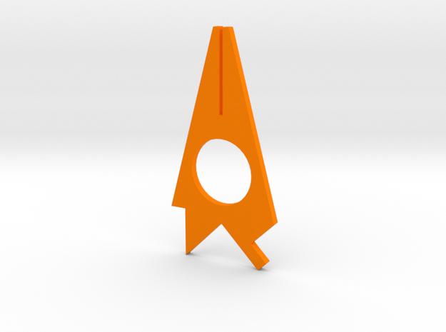 Turf Tool - Multi Tool  in Orange Strong & Flexible Polished