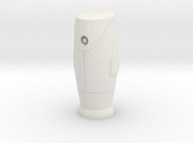 1/24 Bornes d'incendie / Fire hydrant  in White Natural Versatile Plastic