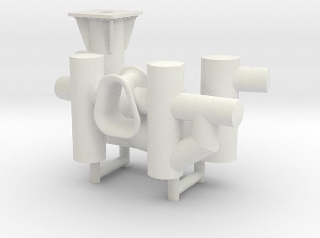 ASD 2810 MKI towing bits in White Natural Versatile Plastic