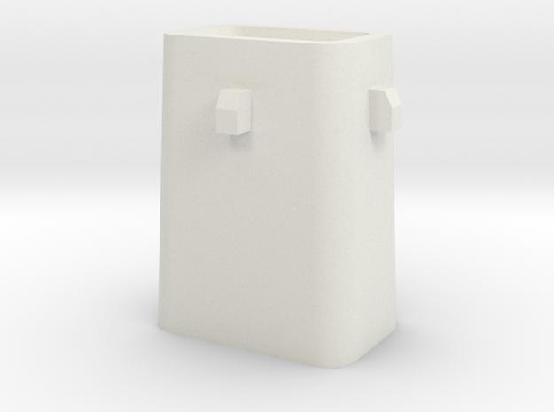 Stahlkokille 4 Zapfen mit Guß 1:120 in White Natural Versatile Plastic