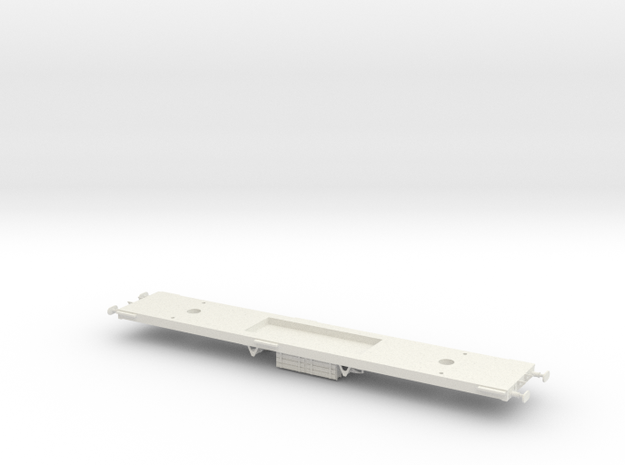 GN Saloon Chassis OO in White Natural Versatile Plastic