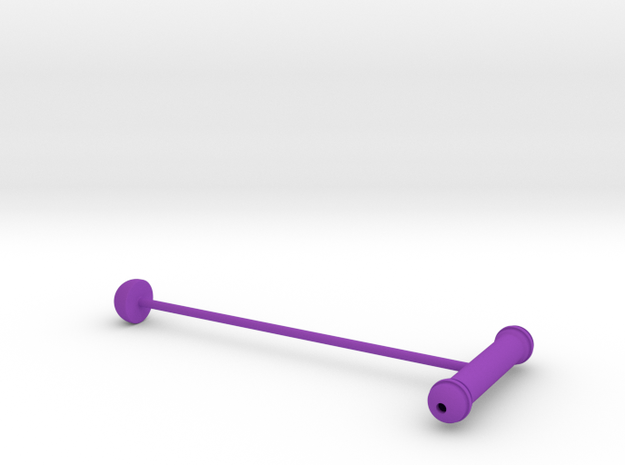 Cork Seeker II in Purple Strong & Flexible Polished