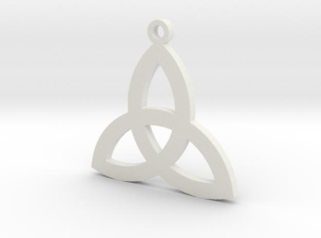 Trinity in White Natural Versatile Plastic