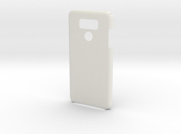 LG G6 Case in White Natural Versatile Plastic