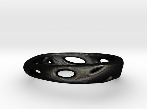 s3r016s6 GenusReticulum in Matte Black Steel