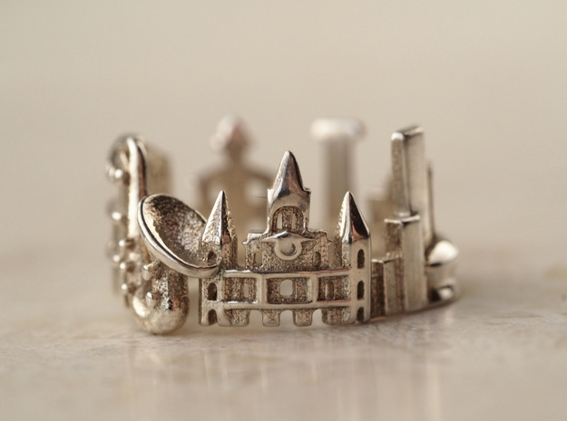 New Orleans Cityscape - Skyline Ring