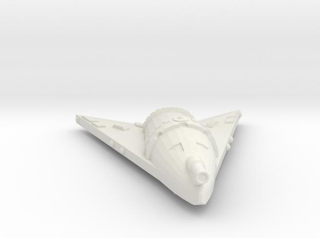 3788 Scale Hydran Crusader Frigate Leader GLP in White Natural Versatile Plastic