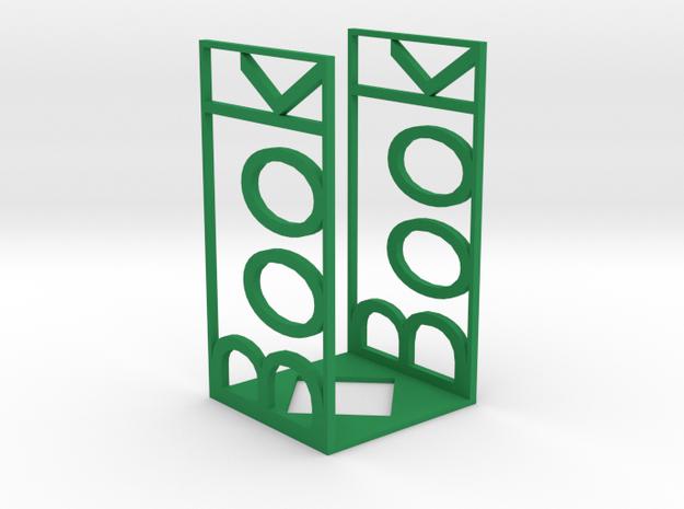 Book support in Green Processed Versatile Plastic: Medium