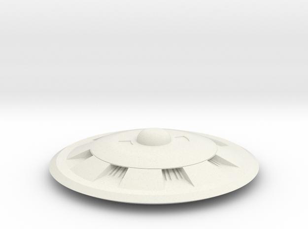 Saucer Series 2013  in White Natural Versatile Plastic