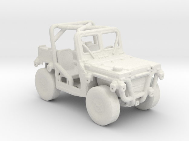 M1163 prime mover 1:160 scale in White Natural Versatile Plastic